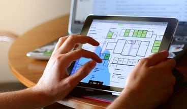 Resources iPad floor plan - Moving from CAD + Spreadsheets to Cloud-based FM