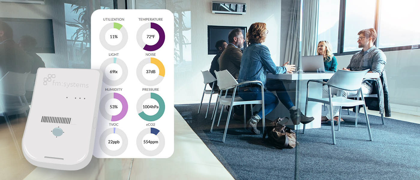 environmental sensors workplace - 4 Types of Sensors for Better Workspace Management